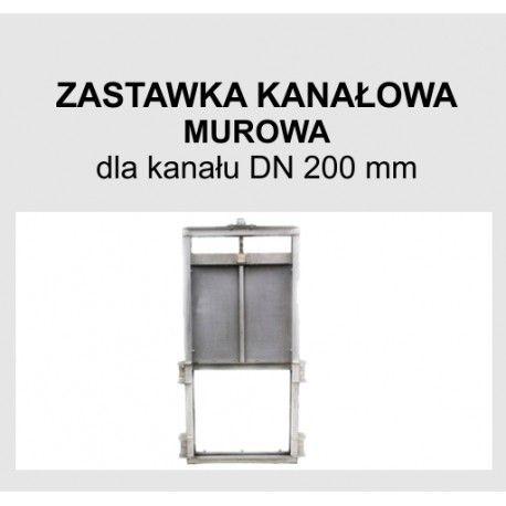 Zastawka murowa DN 200