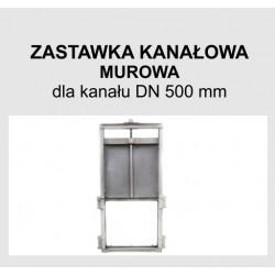 Zastawka murowa DN 500