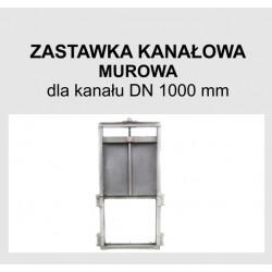 Zastawka murowa DN 1000