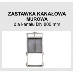Zastawka murowa DN 800
