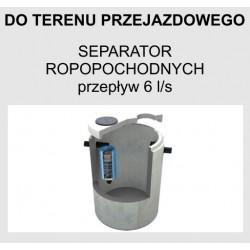 Separator ropopochodnych betonowy