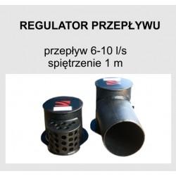Regulator przepływu 6-10 l/s H 1,0