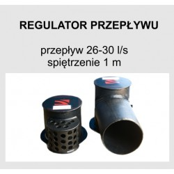 Regulator przepływu 26-30 l/s H 1,0