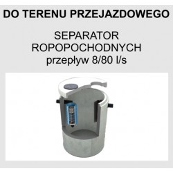Separator ropopochodnych betonowy BY-PASS