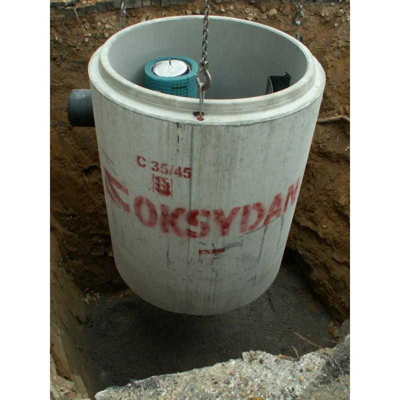 Super Separator substancji ropopochodnych betonowy z osadnikiem z by LV48