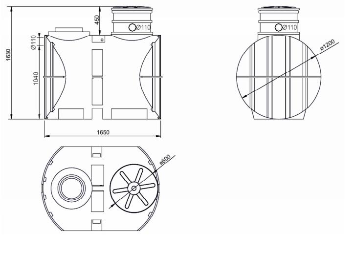 parametry techniczne zbiornika